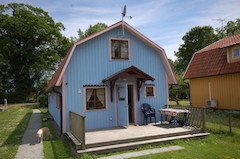 Haus 39 Hagaby Ökohaus 2, Terrasse