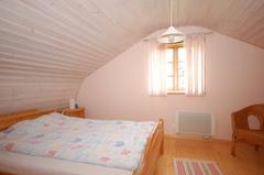 Haus 39 Hagaby Ökohaus 2, Schlafraum